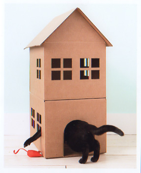 Maggie cat house