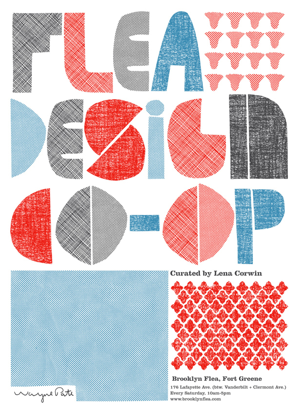 Flea Design Co-Op Poster