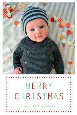 Leo holiday card wren
